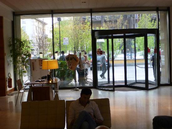 Grand Hotel de la Ville : In the lobby