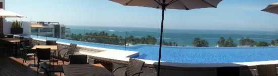 Marival Residences Luxury Resort: view from roof top pool
