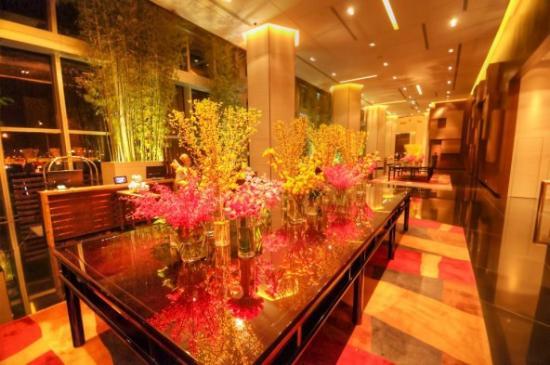 澳门君悦酒店: Grand Hyatt Macau lobby