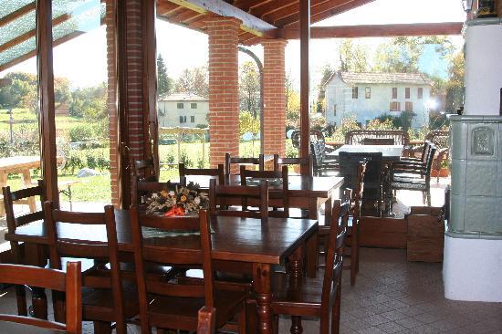 Farm House Altana del Motto Rosso: Veranda