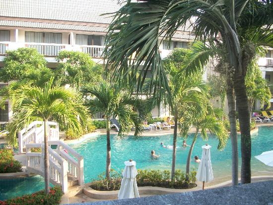 Centara Kata Resort Phuket: view from our 2nd floor room
