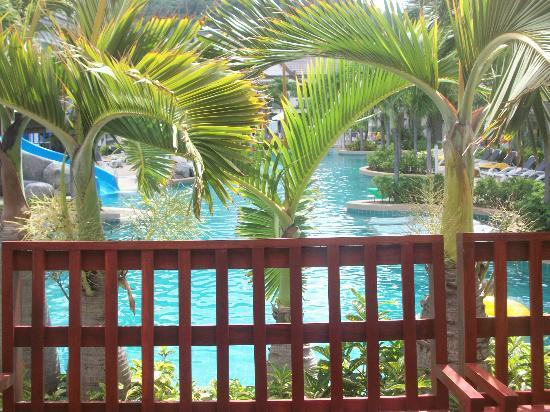 Centara Kata Resort Phuket: view from breakfast table