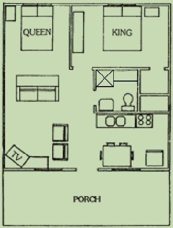 two bedroom cottage floorplan picture of heidelberg