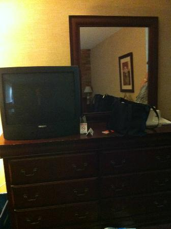 Howard Johnson Hotel Toronto Yorkville: Pic of the TV