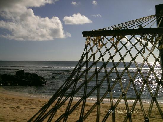 InterContinental Mauritius Resort Balaclava Fort: relaxen in der Hängematte