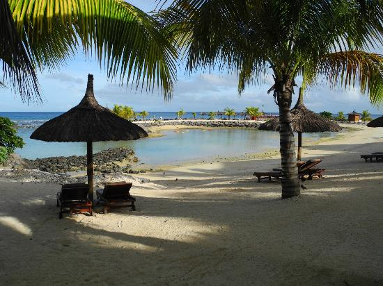 InterContinental Mauritius Resort Balaclava Fort: Strandbereich