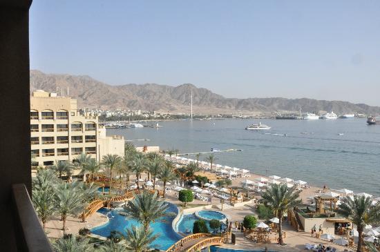 InterContinental Aqaba Resort : Utsikt över hotellområdet