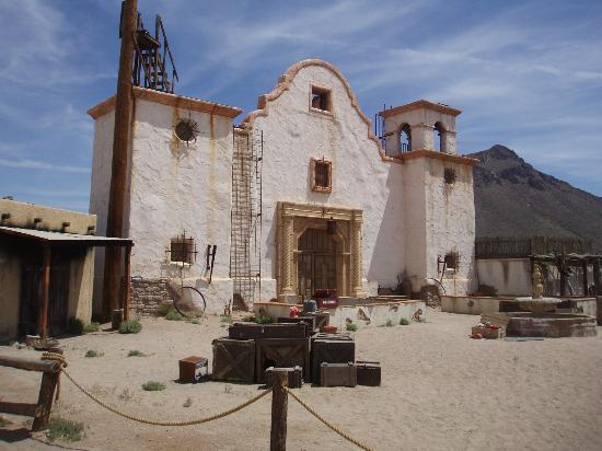 "Old Tucson : Film set of ""Tombstone"""