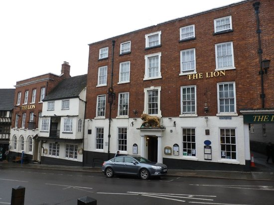 Lion Hotel Shrewsbury Parking