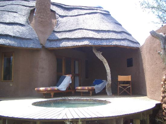 Madikwe Safari Lodge: Terasse der Villa