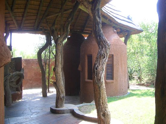 Madikwe Safari Lodge: Toilette der Lodge