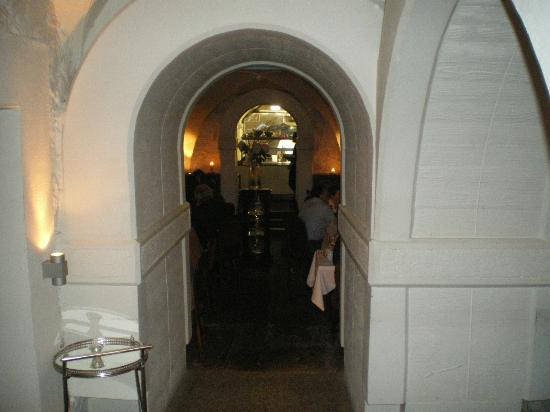 La Boheme: View Of The Kitchen From The Entrance