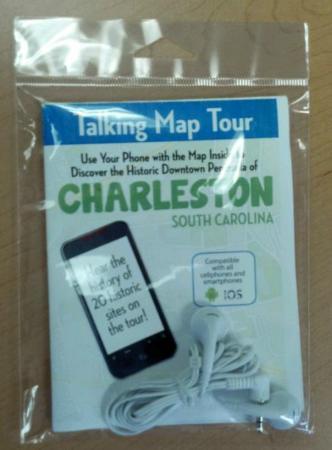 Charleston SC Tours: Talking Map Tour Kit