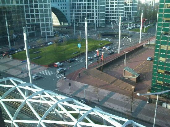 NH Den Haag: View from my 7th floor window.