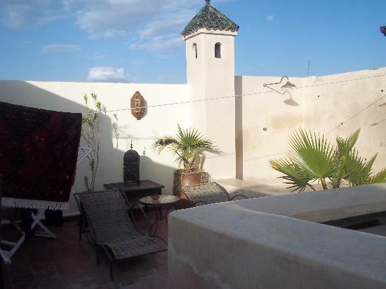 Riad Dar Ftouma: terrazza