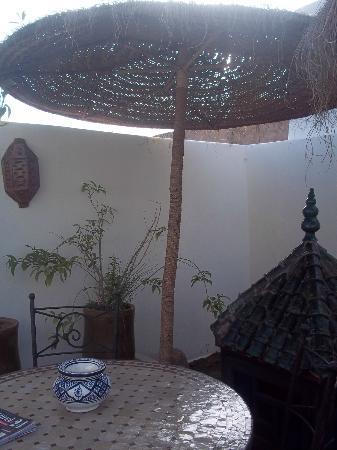 Riad Dar Ftouma : terrazza