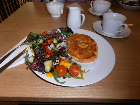 The Olive Grove: Cheese and onion pie