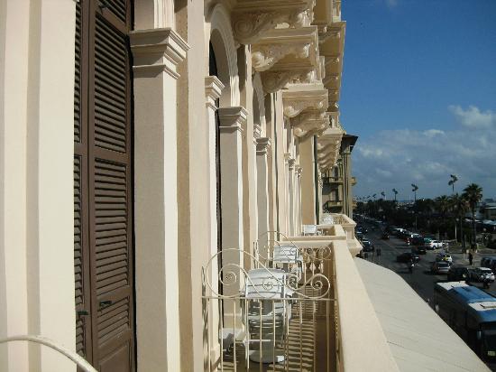 Grand Hotel Principe di Piemonte: Balcony