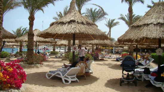 Maritim Jolie Ville Resort & Casino Sharm El-Sheikh: Private beach area