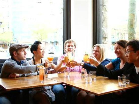 Local Roots Food Tours: cheers to new friends on the tour