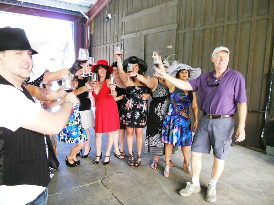Local Roots Food Tours: Valduvino.com - awesome winery tour with the winemaker!