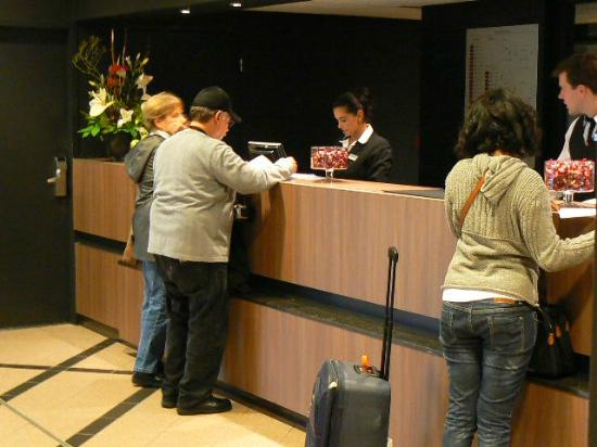 Mercure Hotel Amsterdam City: Taking care of business