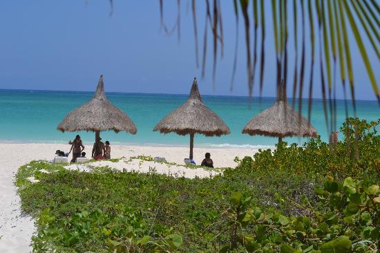 Amarte Hotel: Beach cabanas