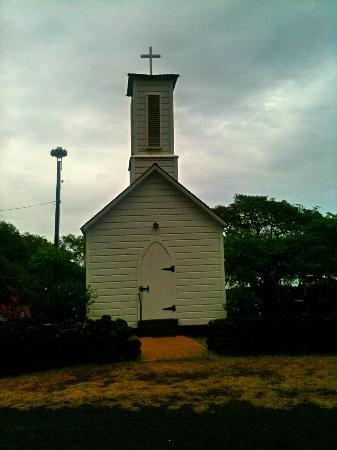 St. Joseph's Catholic Church : Father Damien's Church in Kamalo - Molokai