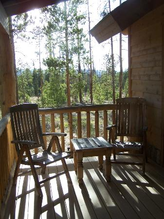 Wild Horse Inn : Our porch at the cabin.