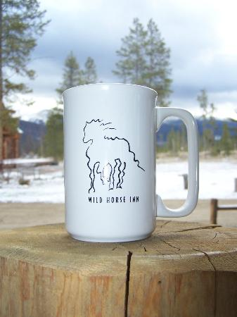 Wild Horse Inn: Our gift from the inn..