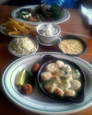 Original Oyster House: Our entrees and sides