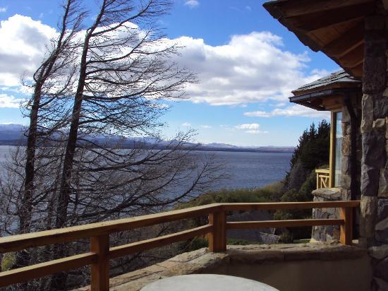 Lirolay Suites: Vista desde el balcon