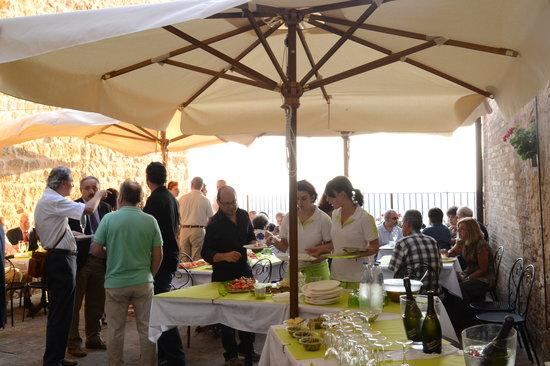 Osteria del Borgo: Terrazza_Terrace