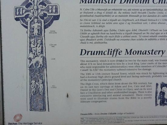 The High Cross : Information about monastery and high cross details