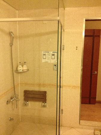 Hotel Queen Incheon Airport: sauna in the room