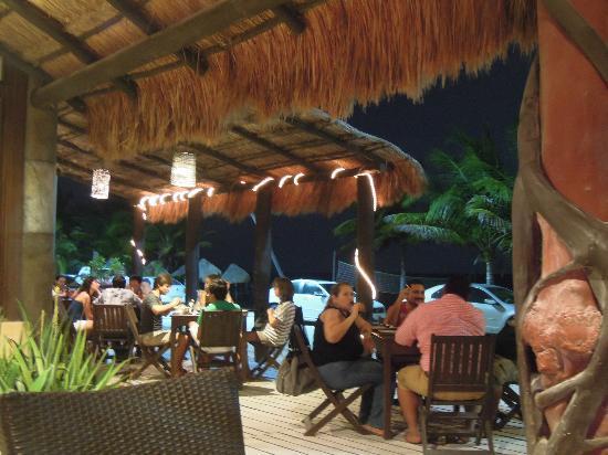 Luna de Plata . Hotel: Vista romantica del restaurant