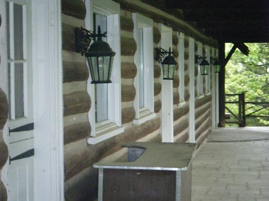 Willmore Lodge: Lodge guest rooms (now the museum)
