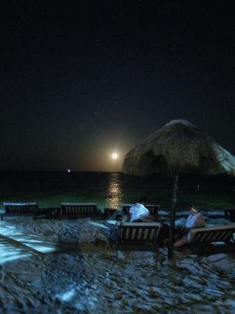 Luna de Plata · Hotel: Luna haciéndole honor al nombre del hotel