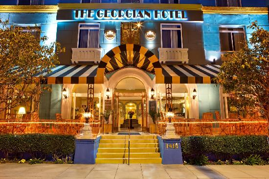 Georgian Hotel Santa Monica Ca