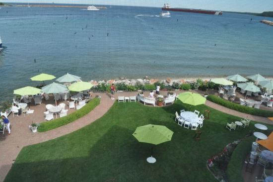 Hotel Iroquois: View from the Biddle Point Suite