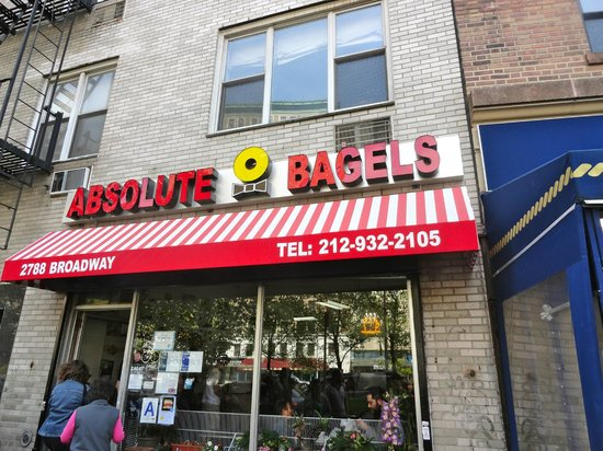 Absolute Bagels: Loved the bagels