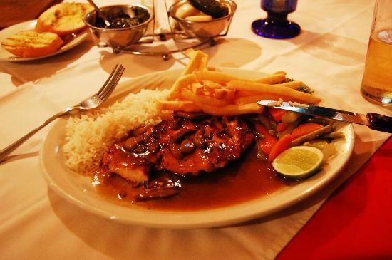 El Churrasco : Very tasty food!