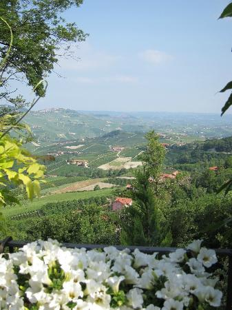 Hotel Villa Beccaris: more views over countryside