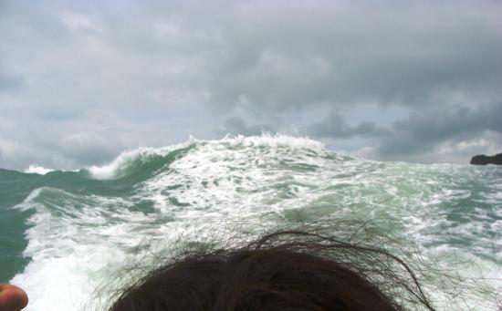 Ang Thong, Tailandia: Deadly waves chasing us.