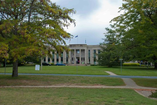 National Film and Sound Archive of Australia: The lovely National Film & Sound Archive  in Canberra