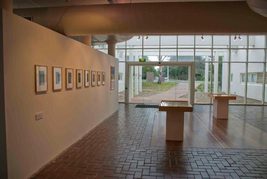 Inside the Canberra School of Art Gallery