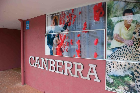 Canberra and Region Visitors Centre: Welcome to Canberra!