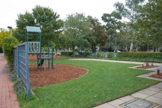 The little playground at the Canberra and Region Visitors Centre