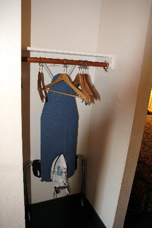 Palomar Inn: Stem Iron & Full size Ironing Board