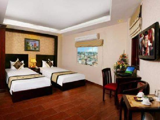 Pearl Suites Hotel: Deluxe Room